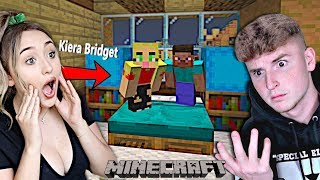 Kiera Bridget Shows Me The BIGGEST Minecraft Secret..