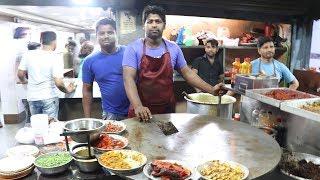 Hyderabadi Style : Tawa Chicken Keema & Kaleji || Nawabi Chicken Masala Kaleji || Street Food India