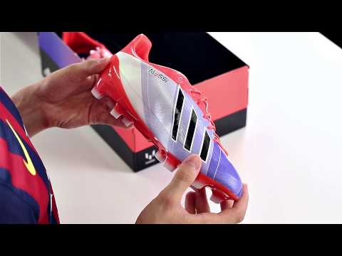 official photos 8605a 5fee4 Unboxing  Adidas F50 AdiZero Messi by Unisport
