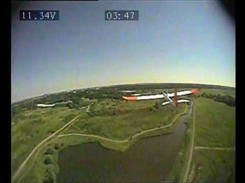 Mini Skywalker FPV, chasing Easy Glider Pro and landing into Niels' hands. - UC6GD54DOHMr1I50Aei2RbHg