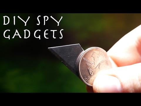 Homemade Spring Loaded SHOE KNIFE! - Spy OTF Knife (Joker
