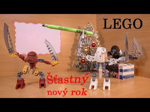 Šťastný nový rok - LEGO [Animované video]