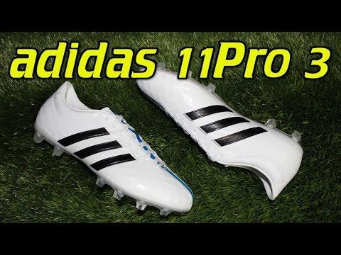 Adidas 11Pro 3 (2015) White/Black/Solar Blue - Review + On Feet - UCUU3lMXc6iDrQw4eZen8COQ