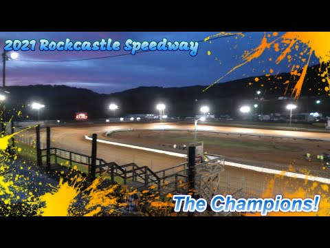 Rockcastle Speedway - Salute to the 2021 Champions - dirt track racing video image