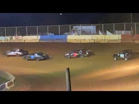8/7/2021 Pure Stock Cherokee Speedway - dirt track racing video image