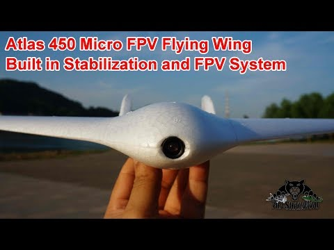 Worlds Smallest Micro FPV Racing Flying Wing Atlas 450 - UCsFctXdFnbeoKpLefdEloEQ