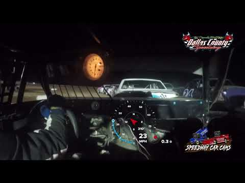 #41 Crager Harris - Pure stock - 4-30-2021 Dallas County Speedway - In Car Camera - dirt track racing video image