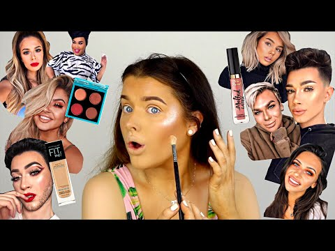 BEAUTY GURUS PICK MY MAKE UP?! | Rachel Leary - UC-Um2u0Agv8Q-OhjO6FZk1g