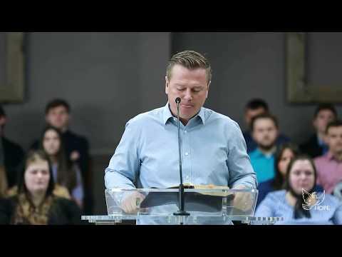 Sunday morning service at Church of Hope, 01/26/2020