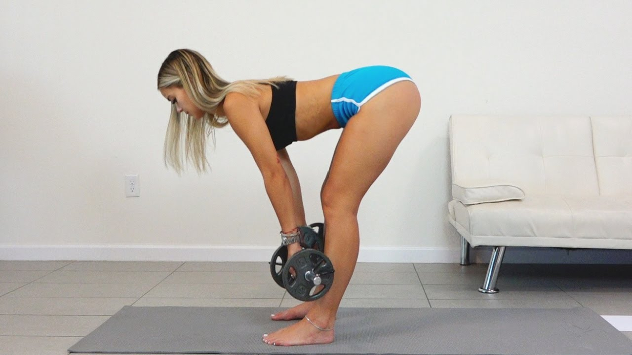 Butt, Abs, Thighs, Stretching Sexy Body Home Workout!! Oh My!