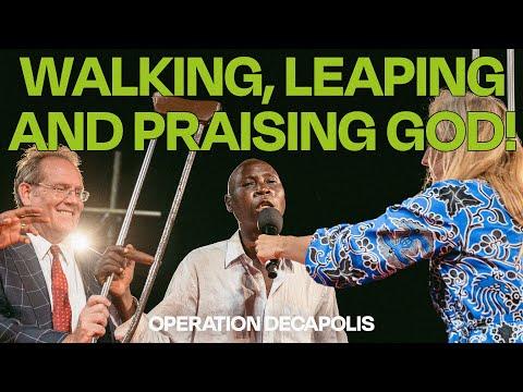 WALKING, LEAPING, AND PRAISING GOD!  Dar es Salaam, Tanzania  Day 2