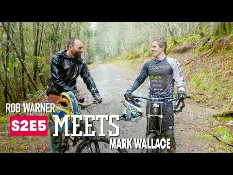Rob meets one of Canada's top mountain bikers, Mark Wallace. - UCXqlds5f7B2OOs9vQuevl4A