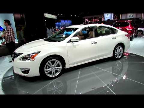 2013 Nissan Alltima Exterior - Debut at 2012 New York International Auto Show NYIAS - automototube