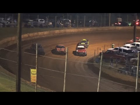 Stock V8 at Winder Barrow Speedway September 11th 2021 - dirt track racing video image