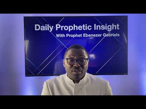 Prophetic Insight December 20th, 2020