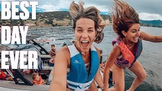 FOUR CRAZY PARENTS TAKE EIGHT WILD KIDS BOATING | EPIC DAY ON THE LAKE | LAKE LIFE