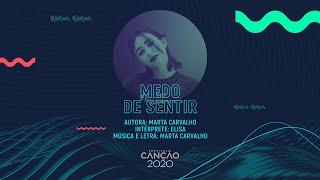 Elisa - Medo de Sentir (Lyric Video)   Festival da Canção 2020
