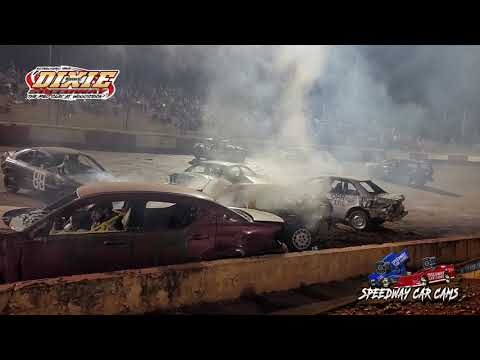 Demo Derby at Dixie Speedway 5-1-21 - dirt track racing video image
