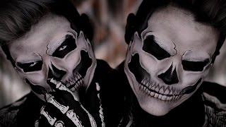 lady gaga skull makeup