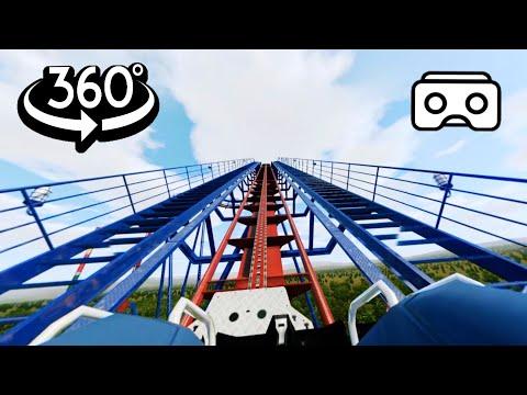 360 Video 4K    Roller Coaster Ride Simulation - UCnO5ygba3vsJG9IeZLndaTQ