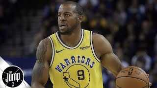 Andre Iguodala is a fit for OKC, Rockets, Jazz – Kendrick Perkins | The Jump