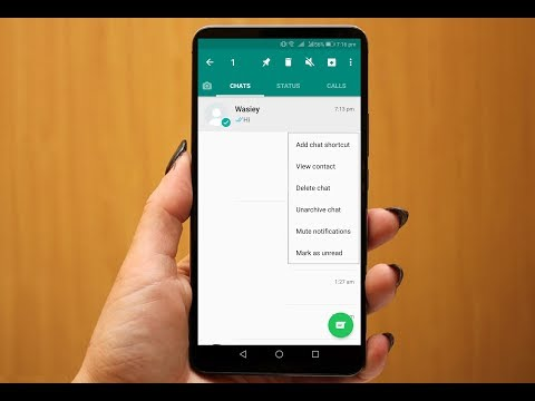 How to Hide & Unhide WhatsApp Chat (No App Needed-Easy)