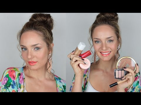 Easy Summer Makeup Tutorial with Drugstore Products - UCLFW3EKD2My9swWH4eTLaYw