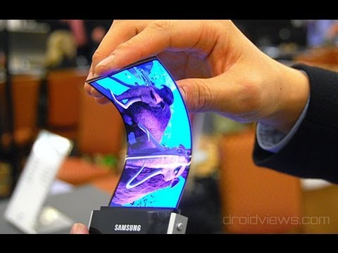 Samsung Announces Youm Flexible OLED Displays at CES - UCbR6jJpva9VIIAHTse4C3hw