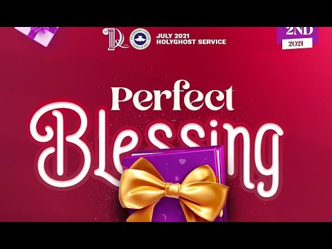 RCCG JULY 2021 HOLY GHOST SERVICE - PSF  YOUTH HOUR