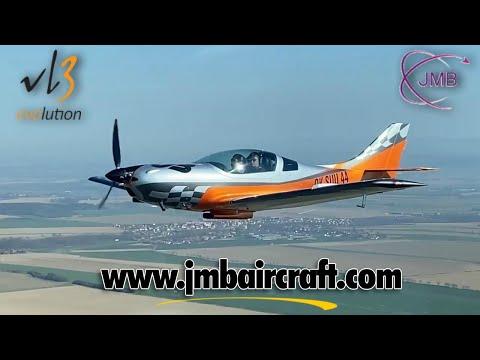 VL3 Evolution experimental aircraft, retractable gear, adjustable prop, JMB Aircraft.