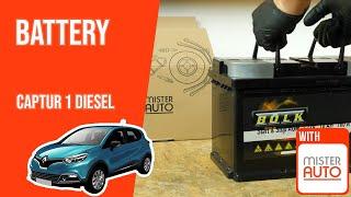 Sostituire la batteria di una Renault CAPTUR 1.5 DCI
