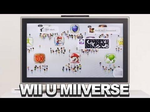 Nintendo Wii U Miiverse Demo - Nintendo E3 2012 - UCKy1dAqELo0zrOtPkf0eTMw