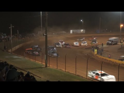602 Late Model at Lavonia Speedway June 18th 2021 - dirt track racing video image