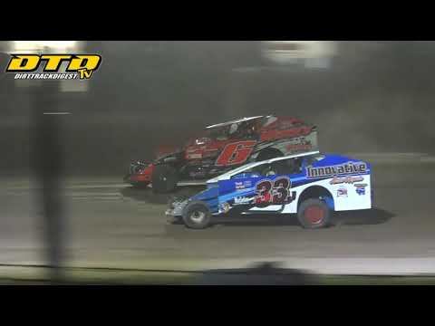 Ransomville Speedway | DIRTcar 358-Modified Feature Highlights | 7/23/21 - dirt track racing video image