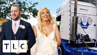 Groom Turns Up To Wedding In Massive Lorry! | Countdown To I Do