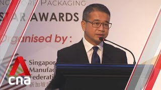 Singapore's packaging industry can innovate, move towards sustainable materials: Edwin Tong