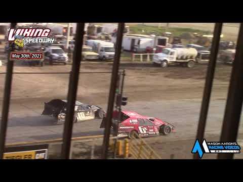 Viking Speedway WISSOTA Modified A-Main (5/29/21)* - dirt track racing video image