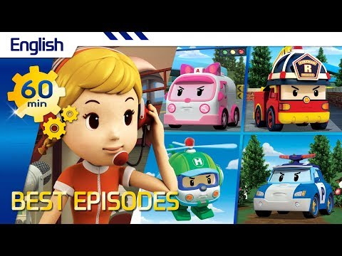 Robocar Poli | Best episodes (English) (60min) | Kids animation - UCr-rCvgg21KqfrnGopaQeGw