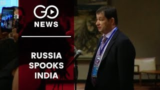 Russia Cites UN Resolutions on Kashmir, Spooks India
