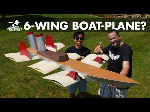 Weirdest Flying Plane YOU Can Build - UC9zTuyWffK9ckEz1216noAw