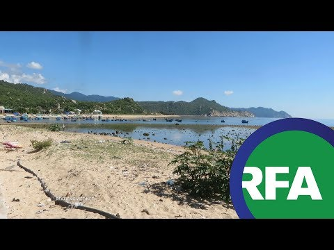 Dân làng Thái An vẫn lo về dự án nhà máy điện | © Official RFA