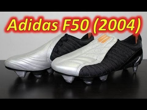 1ba4d0dee Video Adidas F50 (First F50 - 2004) - Retro Unboxing - vujojosh