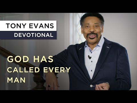 The Difference Between Being a Male and a Man  Tony Evans Devotional