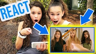 Sierra & Olivia REACT to