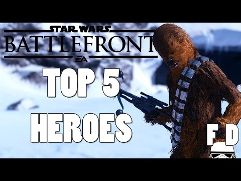 Top 5 Star Wars Battlefront Heroes - UCrqEZyluSncVPbIeHThh8Vg