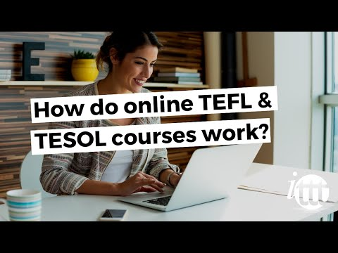video about online TEFL courses structure