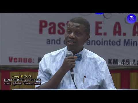 PASTOR E.A ADEBOYE SERMON  THE GARMENT OF PRAISE