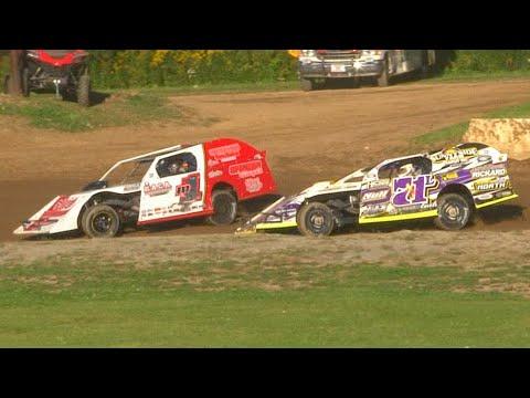 Econo Mod Feature | Eriez Speedway | 9-19-21 - dirt track racing video image