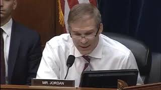 """Ranking Member Jim Jordan Opening Statement: """"The Administration's Child Separation Policy"""