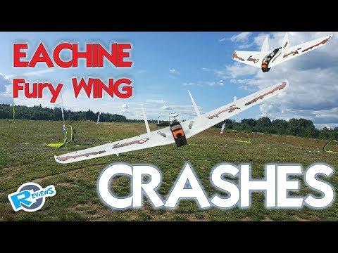 Eachine Fury Maiden flights & Crashes - UCv2D074JIyQEXdjK17SmREQ